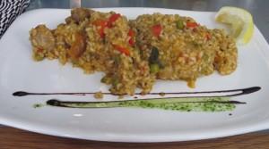 Paella vegetariana Teresa Carles